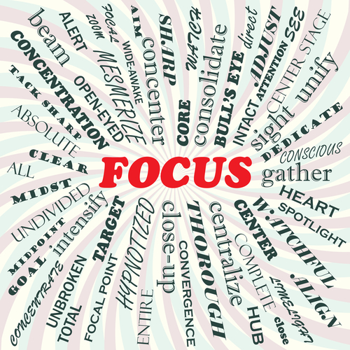 Focus, interruptions, distress, productivity