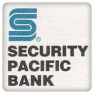 Security Pacific Bank (Known as a Bank Of America Now)